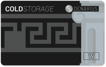 Denarius Cold Storage Card (Architect)
