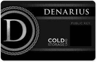Denarius Cold Storage Card (Legacy)