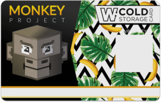 Monkey Cold Storage Card (Jungle)